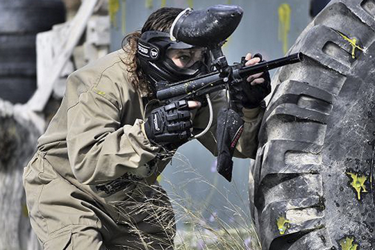 paintball en las despedidas de soltero