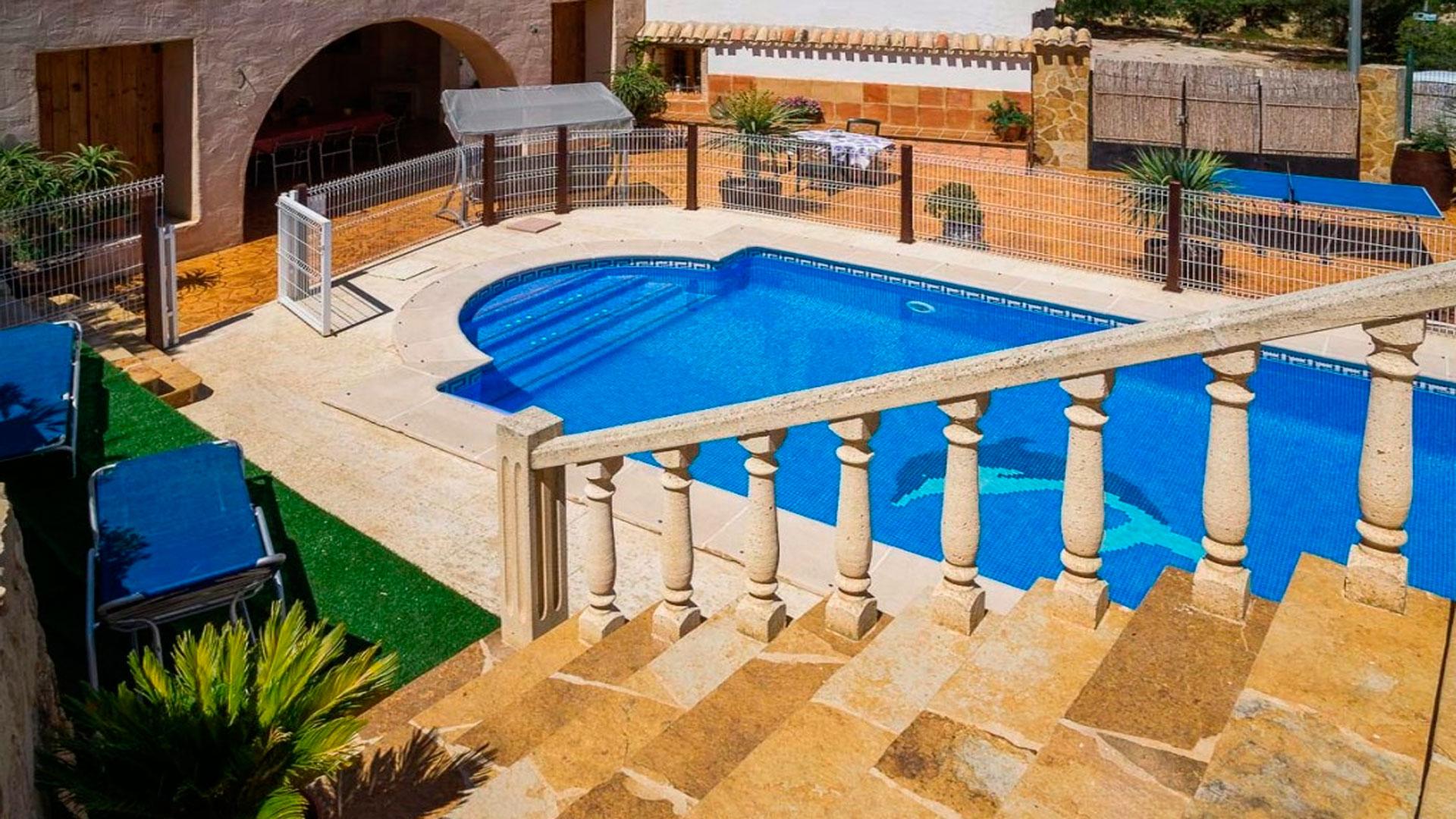casas rurales en Murcia con piscina