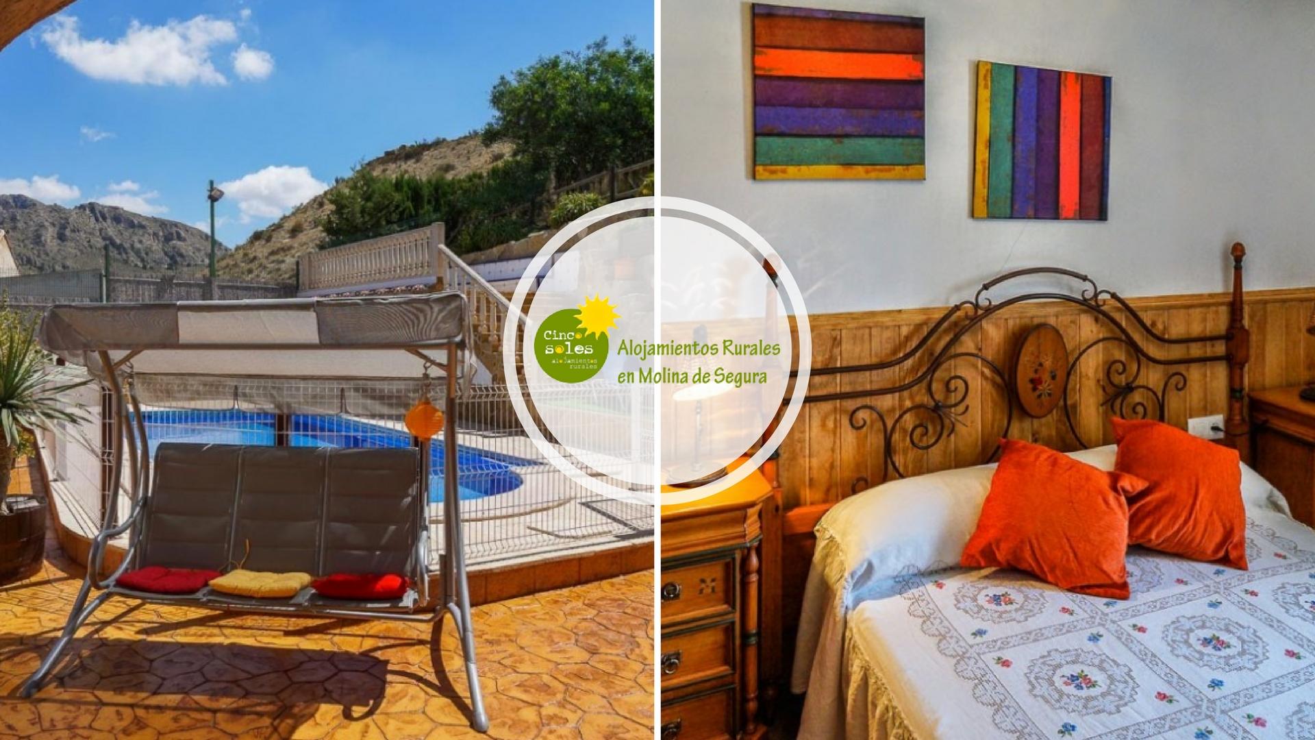 casas rurales en Murcia para 20 personas