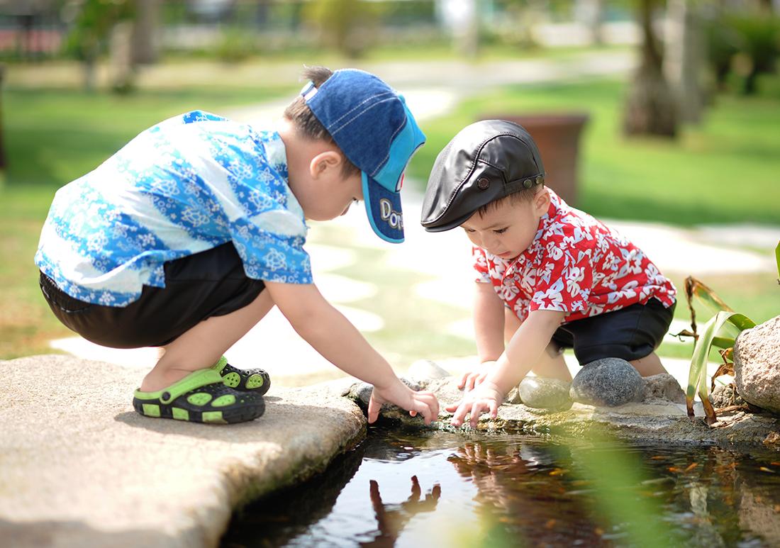 Actividades al aire libre con niños